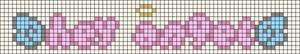 Alpha pattern #83707