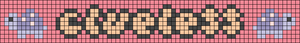 Alpha pattern #83708