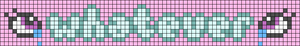 Alpha pattern #83709