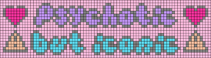 Alpha pattern #83725