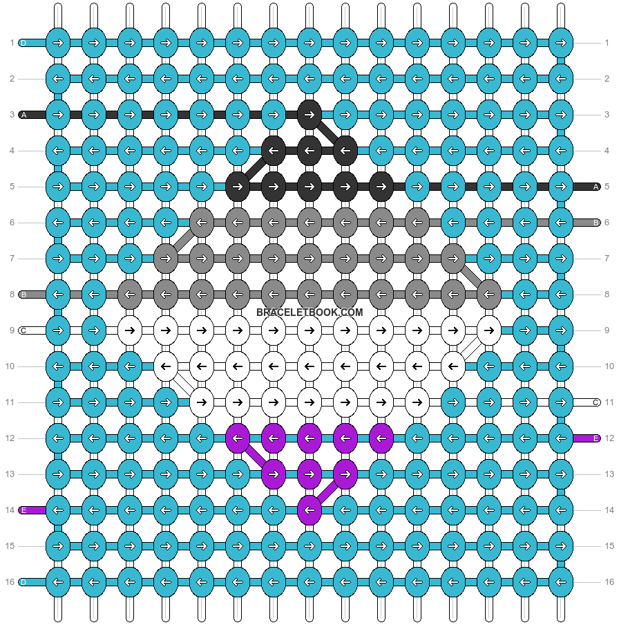 Alpha pattern #83735 pattern