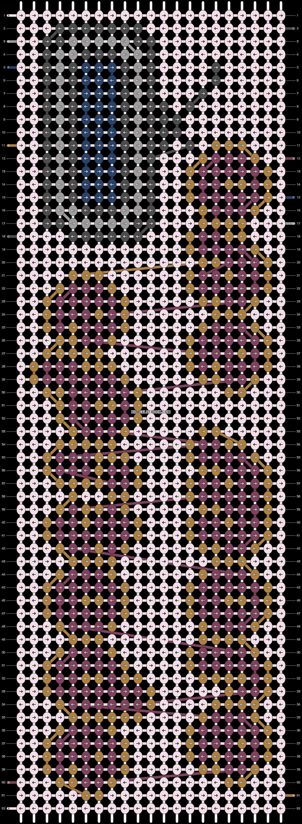 Alpha pattern #83742 pattern