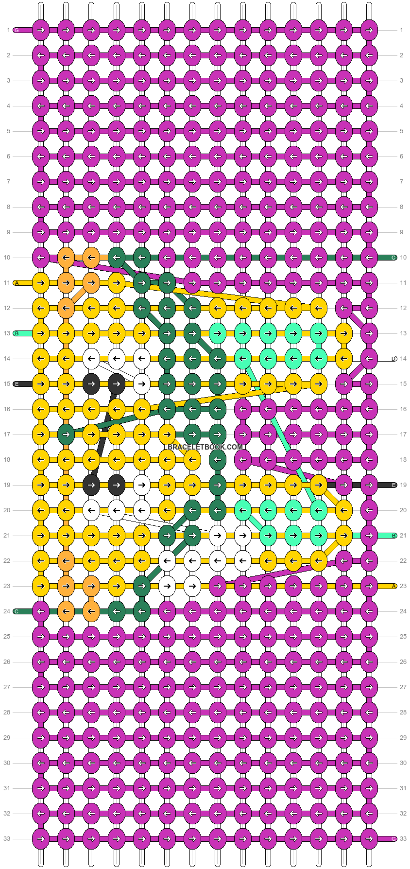 Alpha pattern #83744 pattern