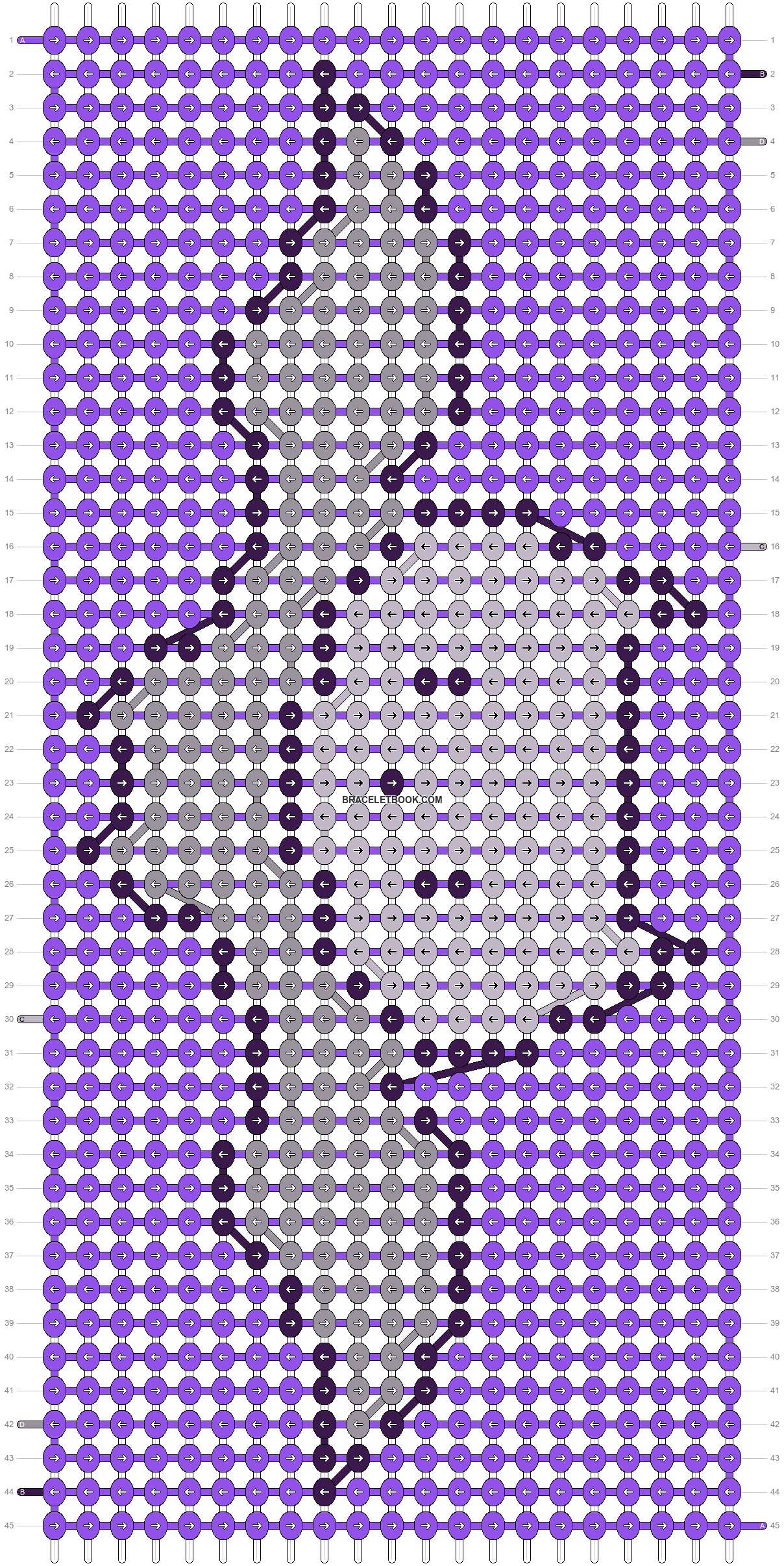 Alpha pattern #83756 pattern