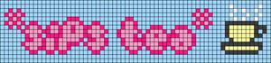 Alpha pattern #83787