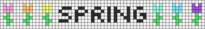 Alpha pattern #83797