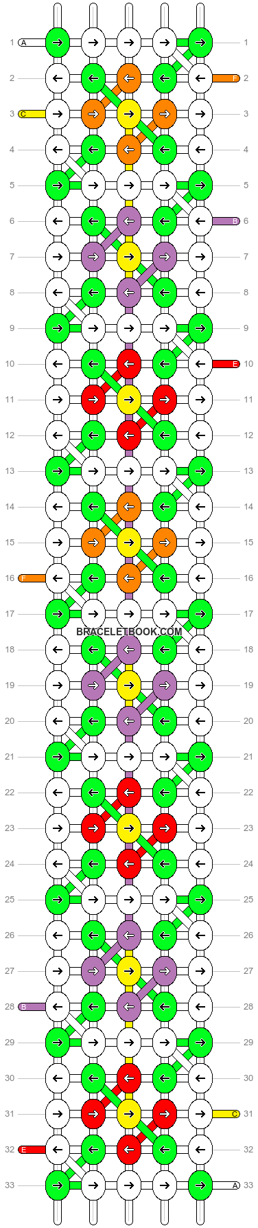 Alpha pattern #83800 pattern