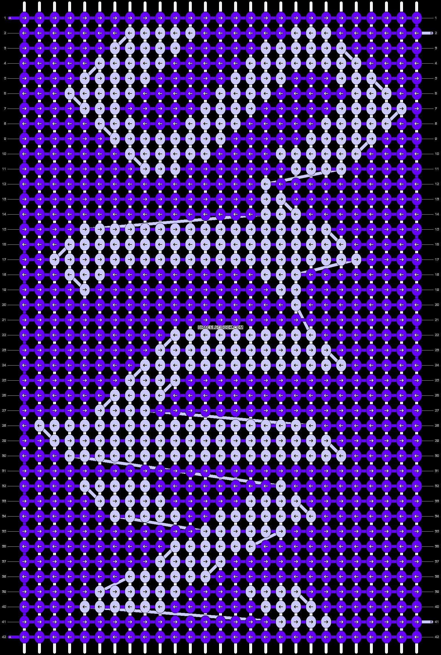 Alpha pattern #83837 pattern