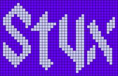 Alpha pattern #83837