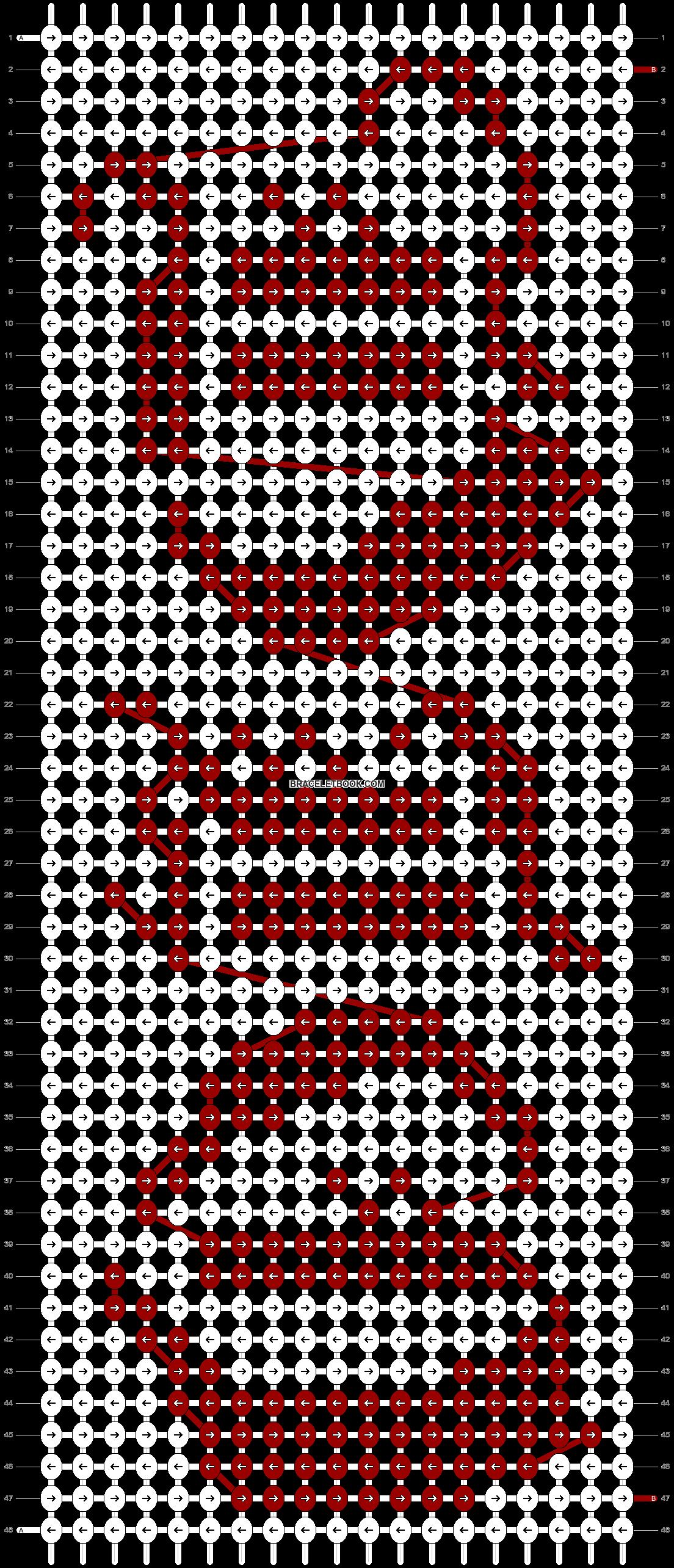 Alpha pattern #83842 pattern