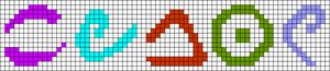 Alpha pattern #83844