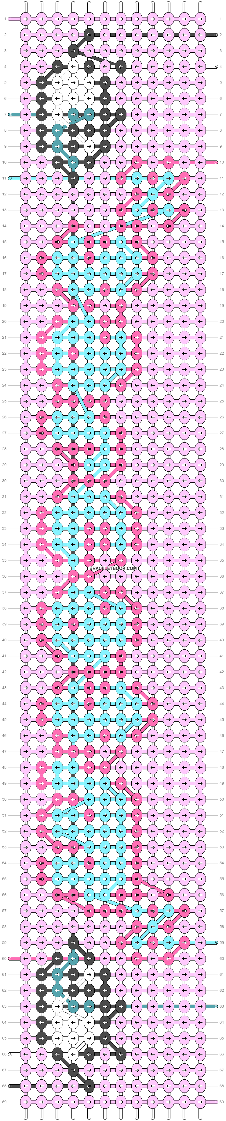 Alpha pattern #83852 pattern