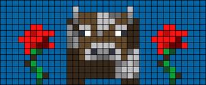 Alpha pattern #83854