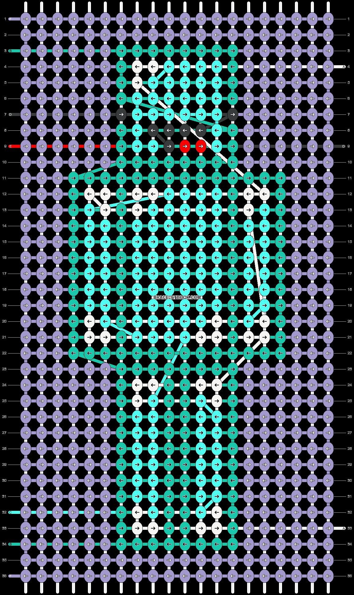 Alpha pattern #83865 pattern