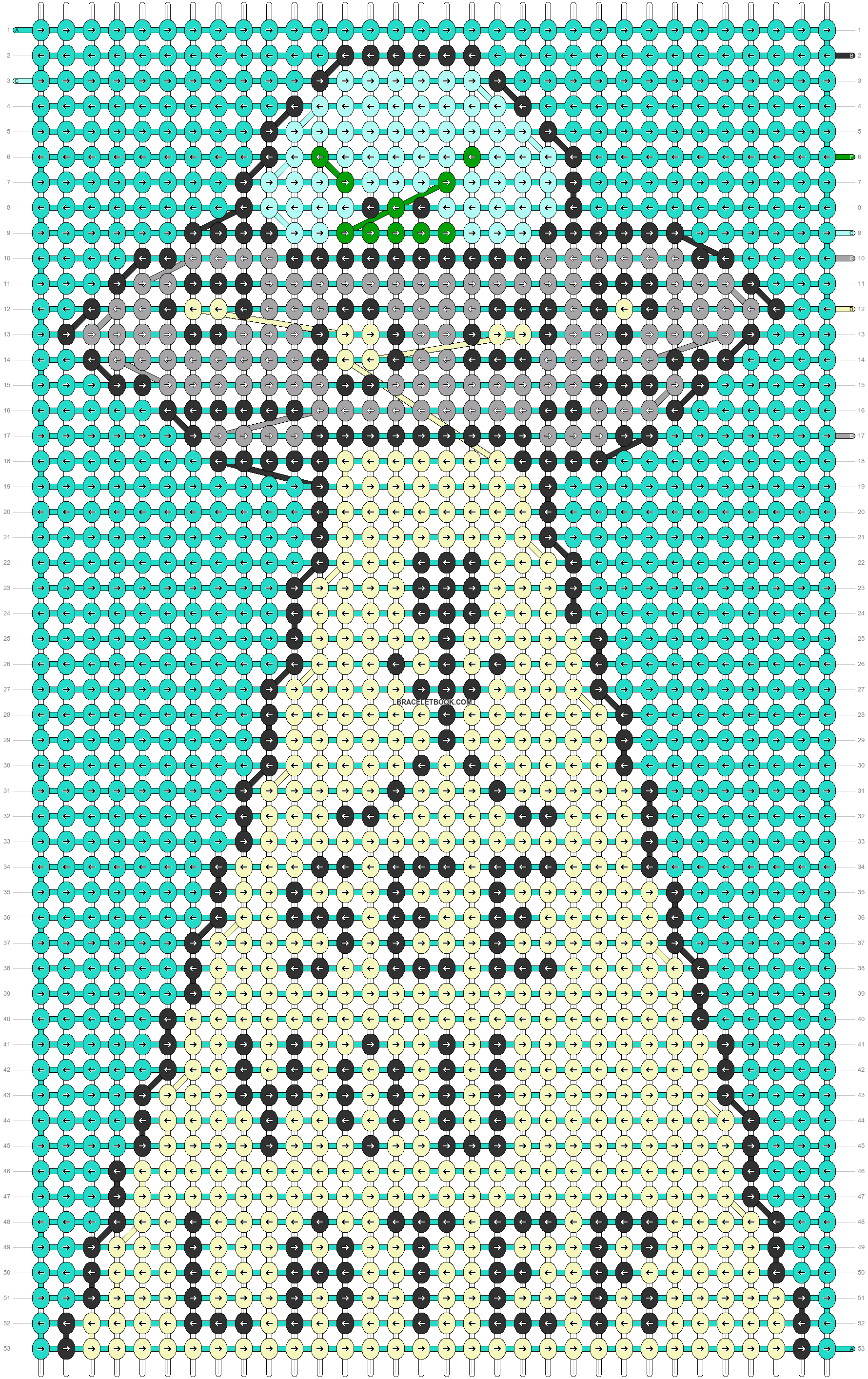 Alpha pattern #83880 pattern