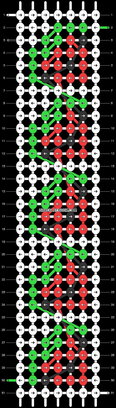 Alpha pattern #83884 pattern