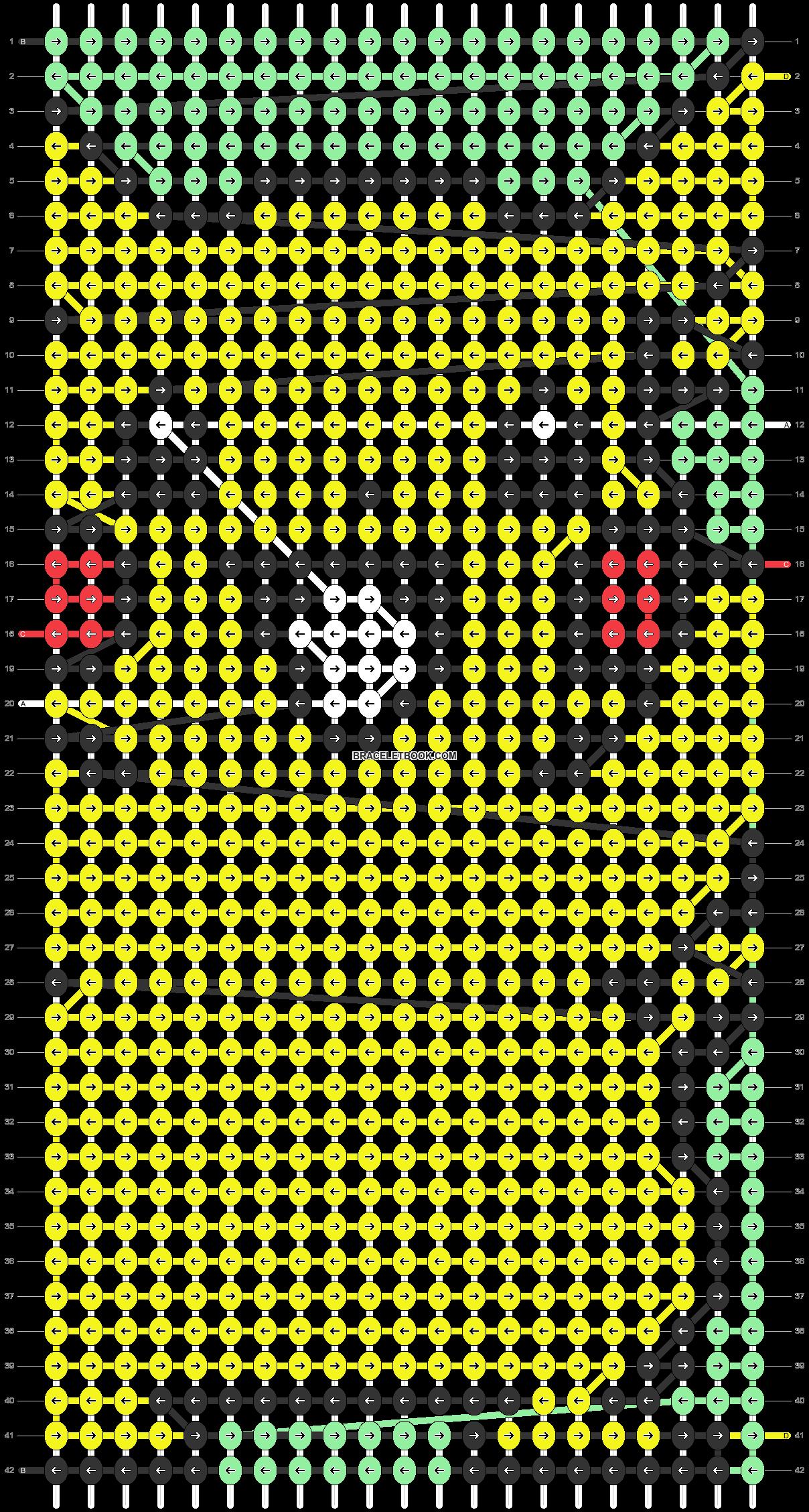 Alpha pattern #83887 pattern