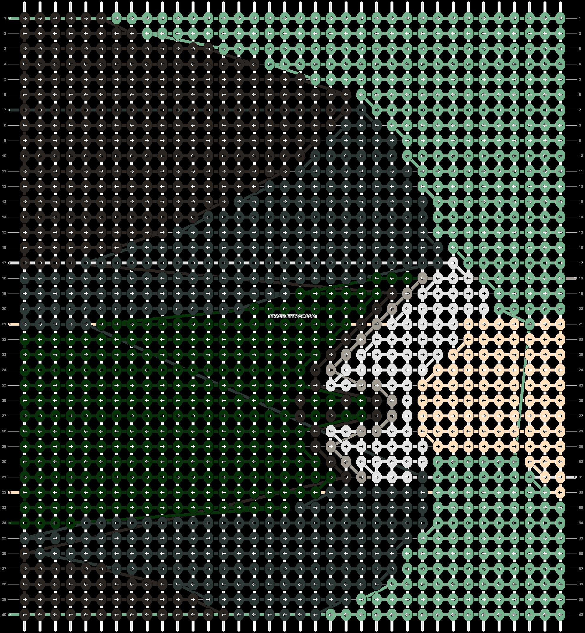 Alpha pattern #83961 pattern