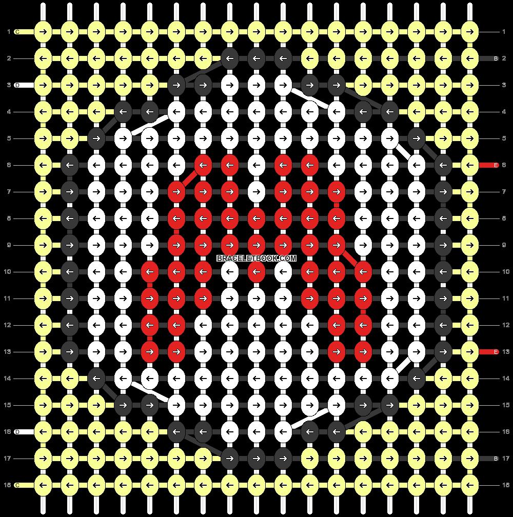 Alpha pattern #83963 pattern