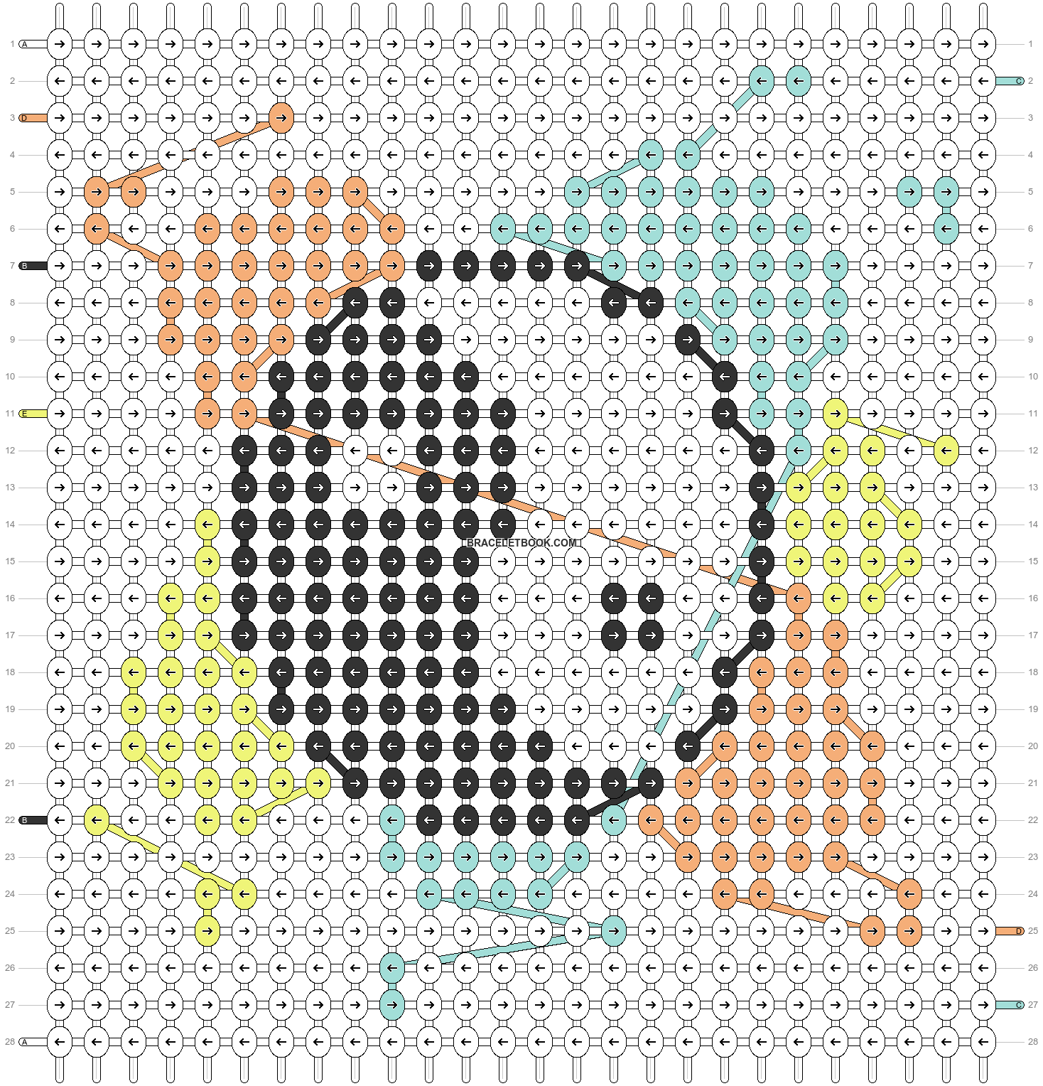 Alpha pattern #83968 pattern