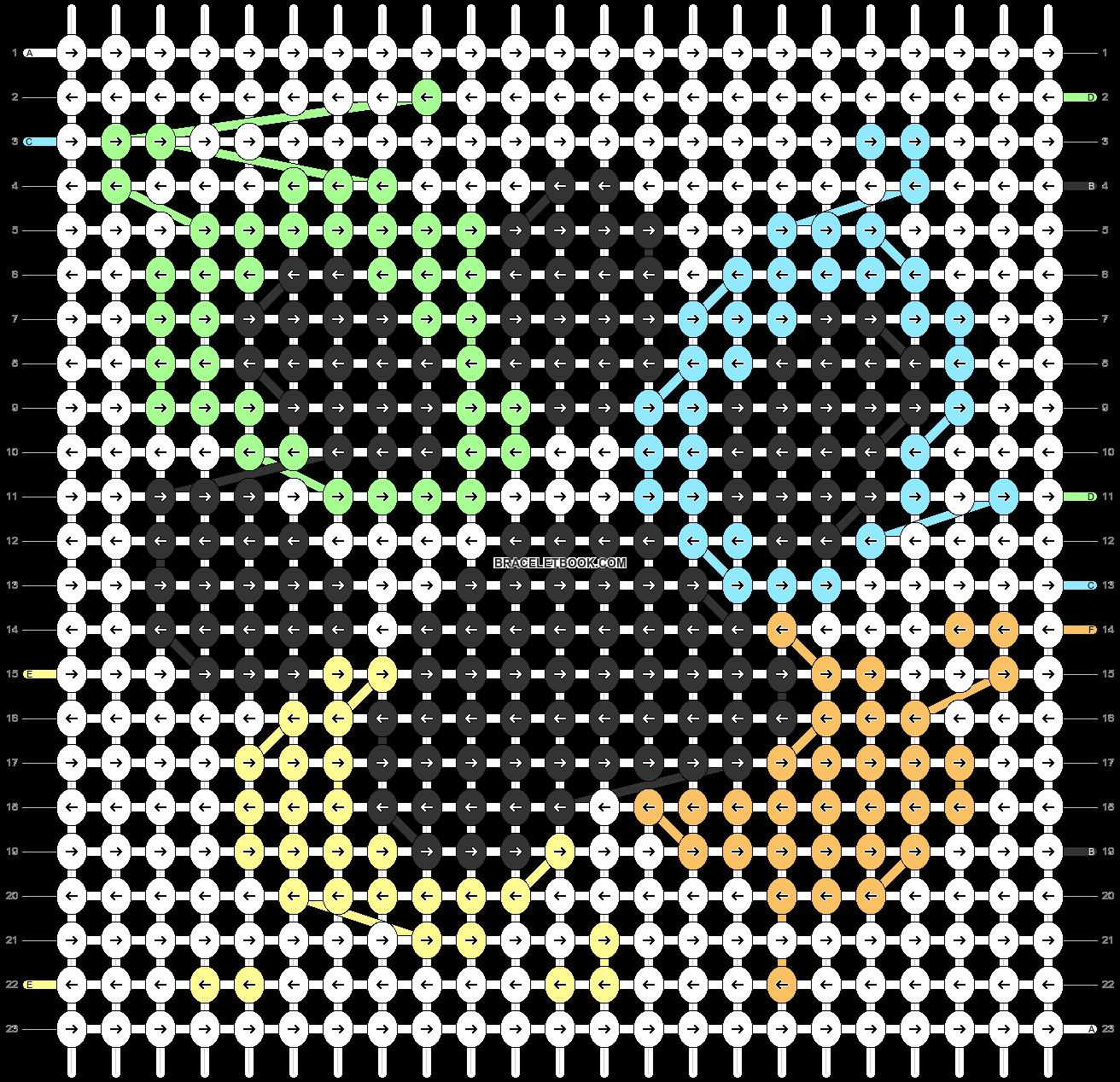 Alpha pattern #83970 pattern