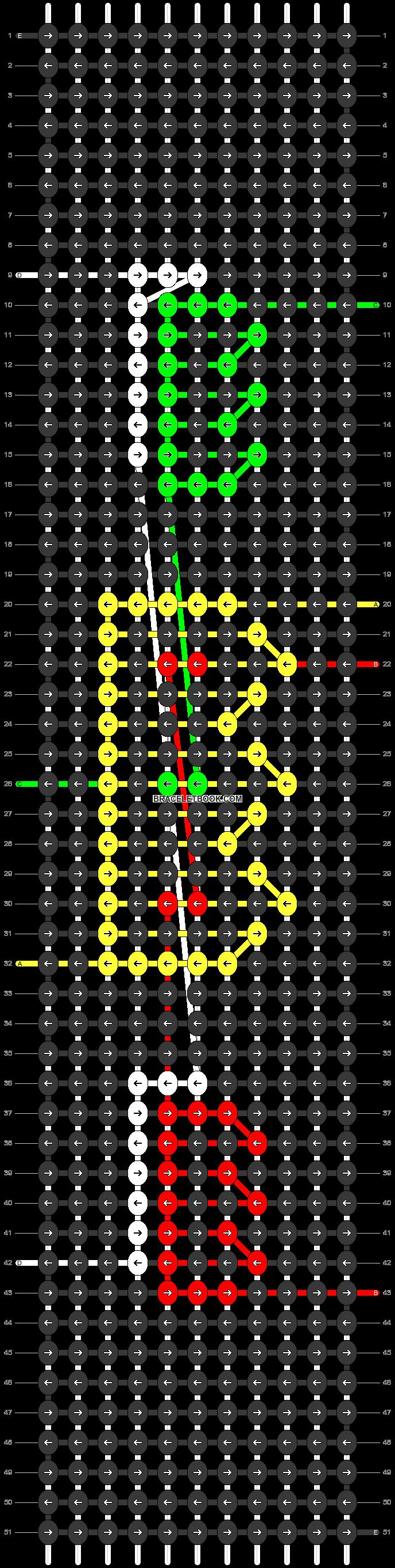 Alpha pattern #84023 pattern
