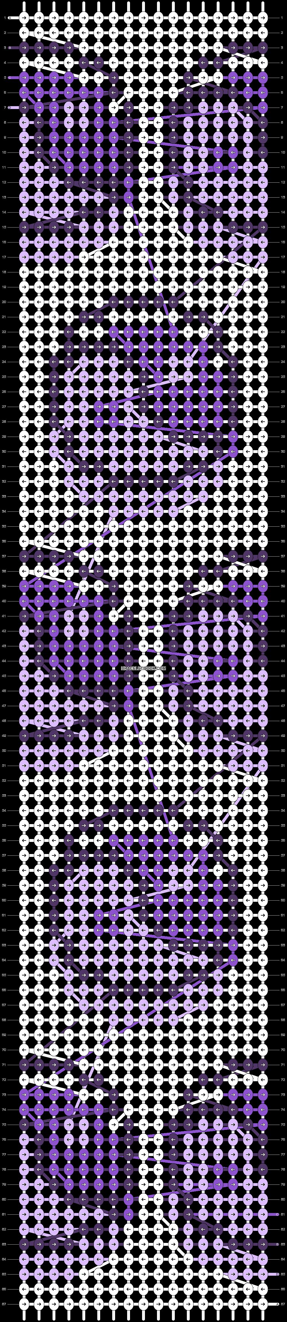 Alpha pattern #84032 pattern