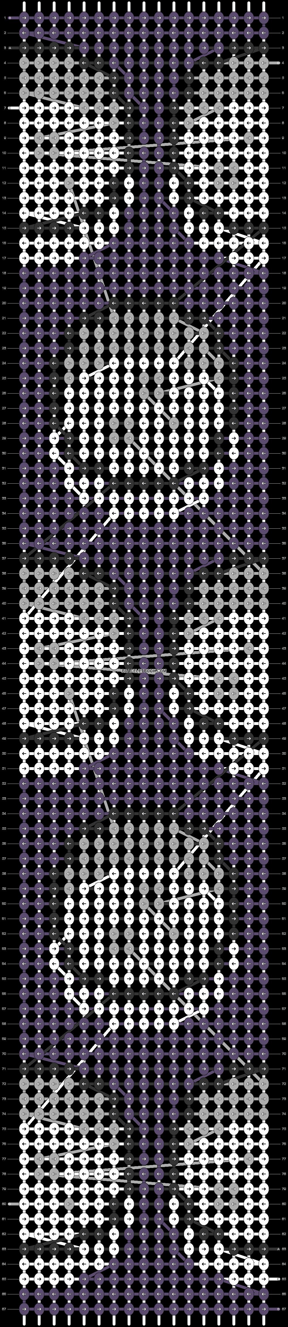 Alpha pattern #84036 pattern