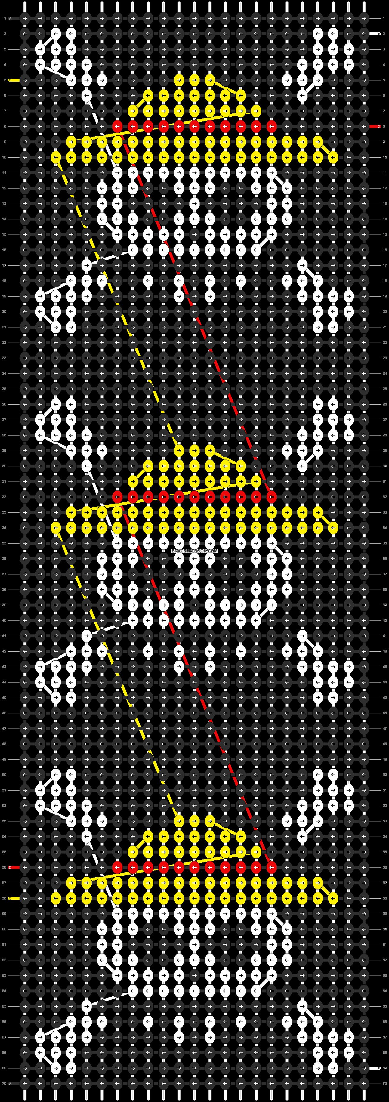 Alpha pattern #84041 pattern