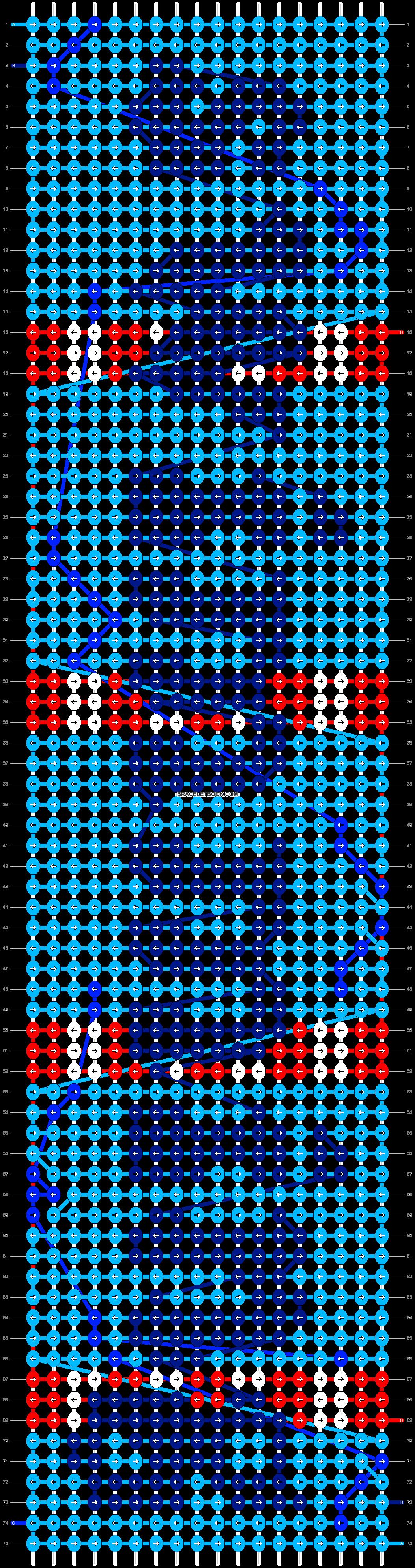 Alpha pattern #84045 pattern