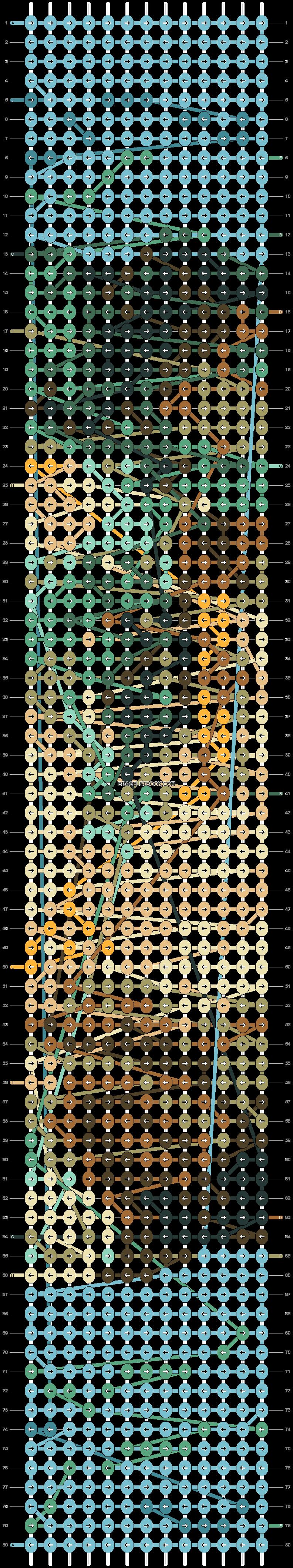 Alpha pattern #84046 pattern