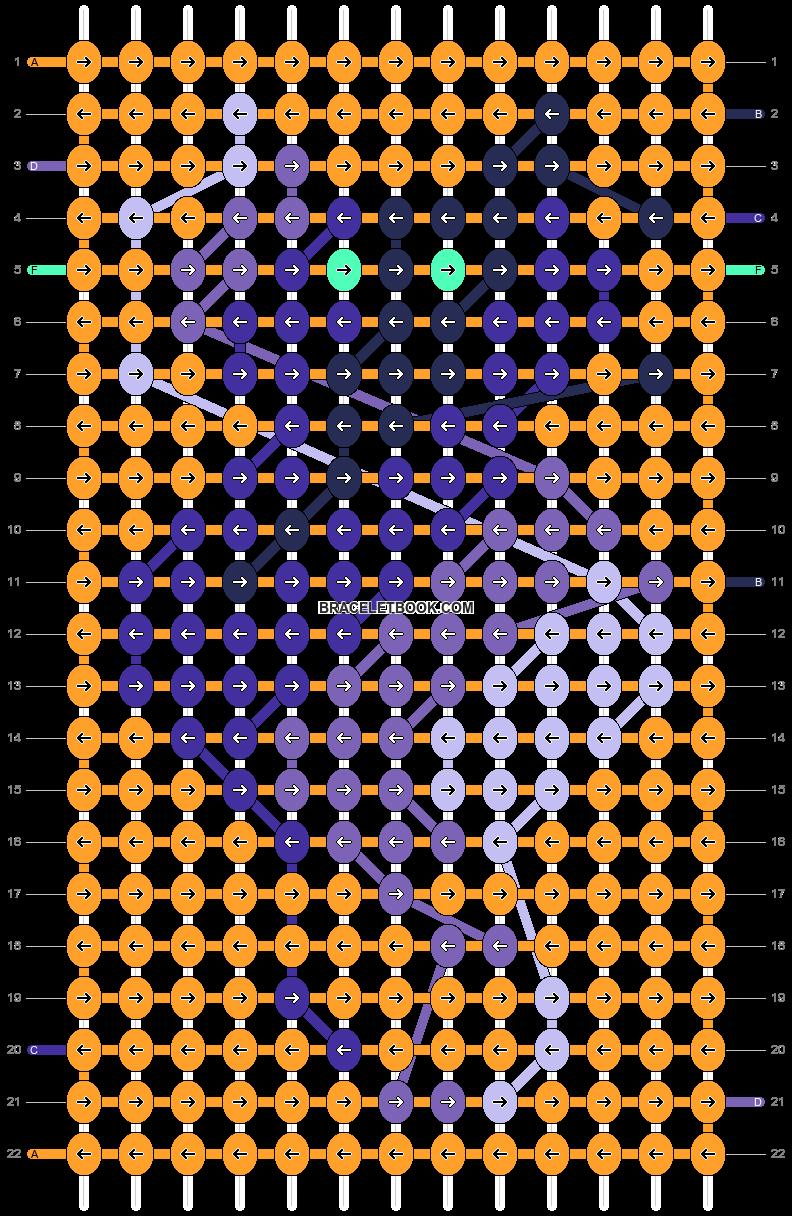 Alpha pattern #84053 pattern