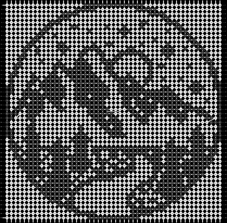 Alpha pattern #84058 pattern