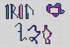 Alpha pattern #84077
