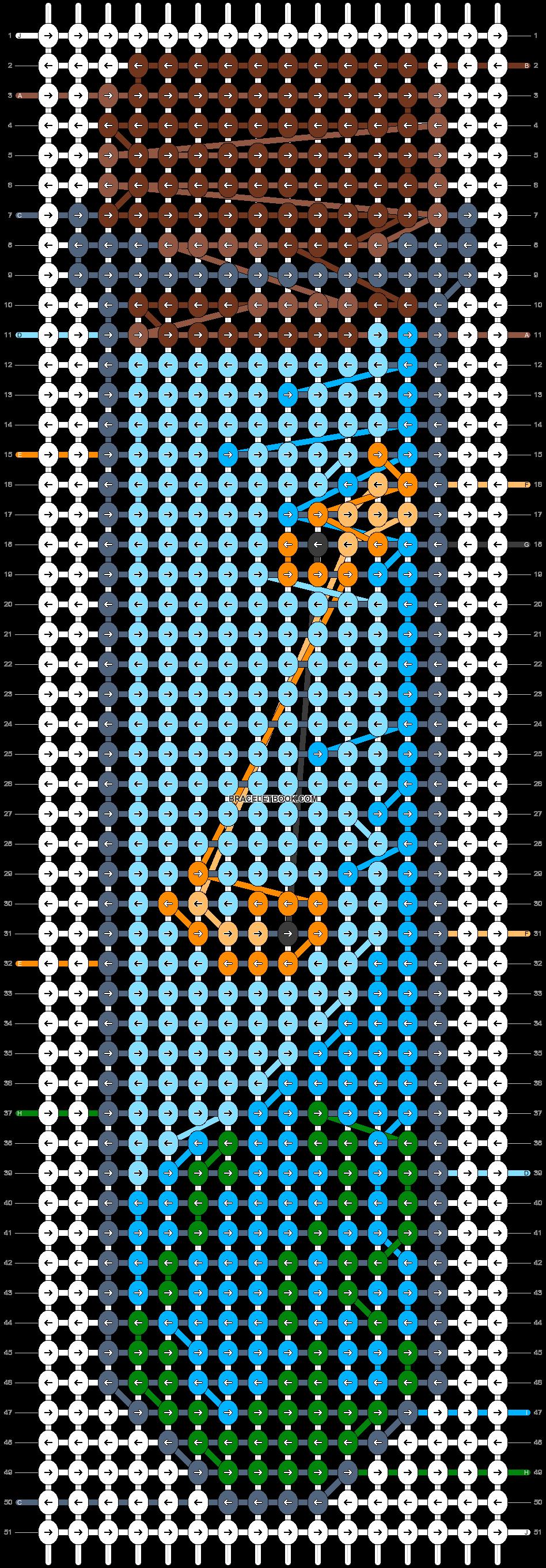 Alpha pattern #84085 pattern