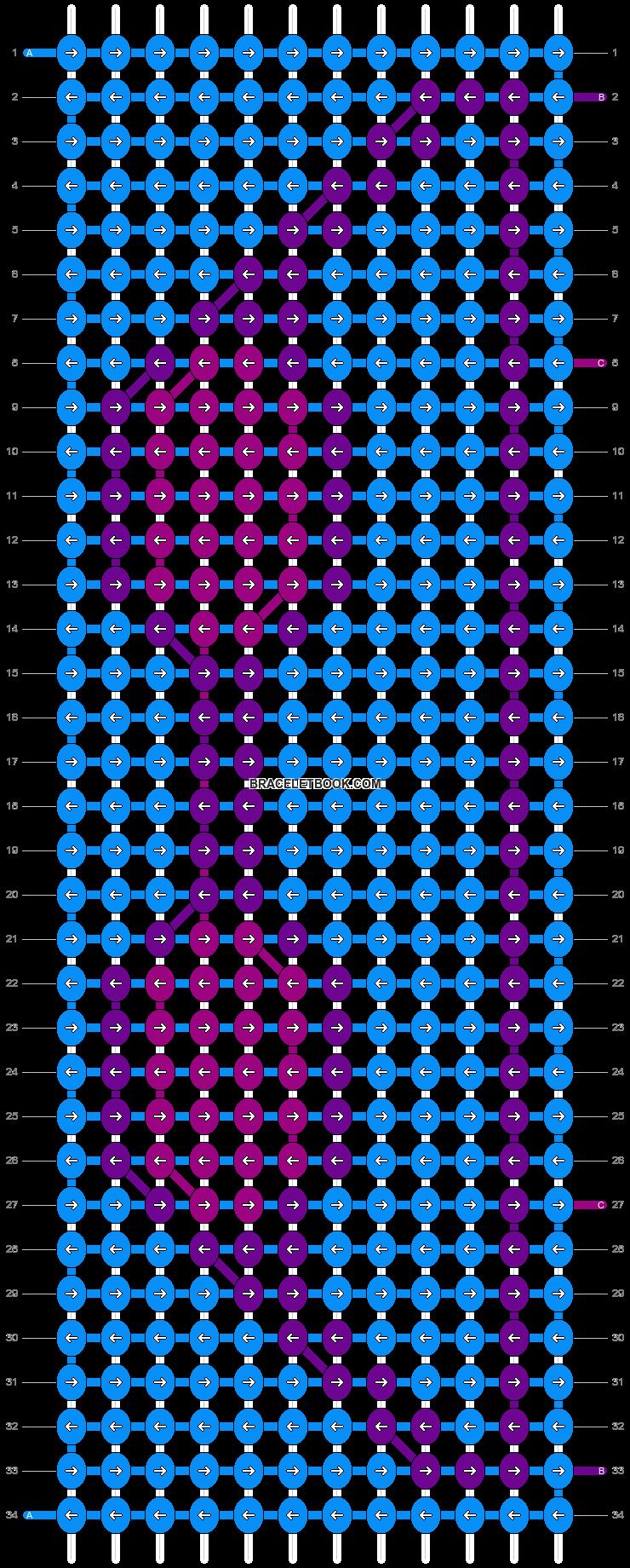 Alpha pattern #84088 pattern
