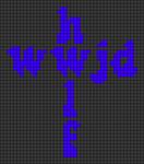 Alpha pattern #84090