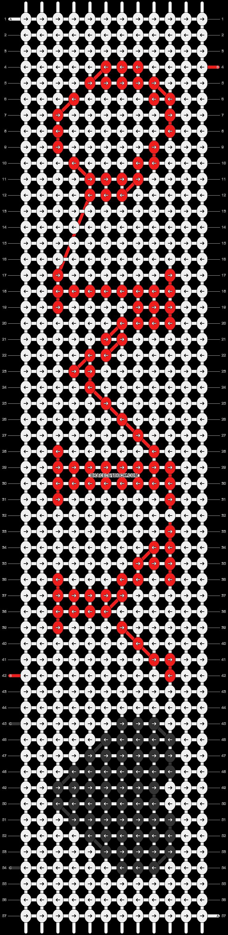 Alpha pattern #84093 pattern