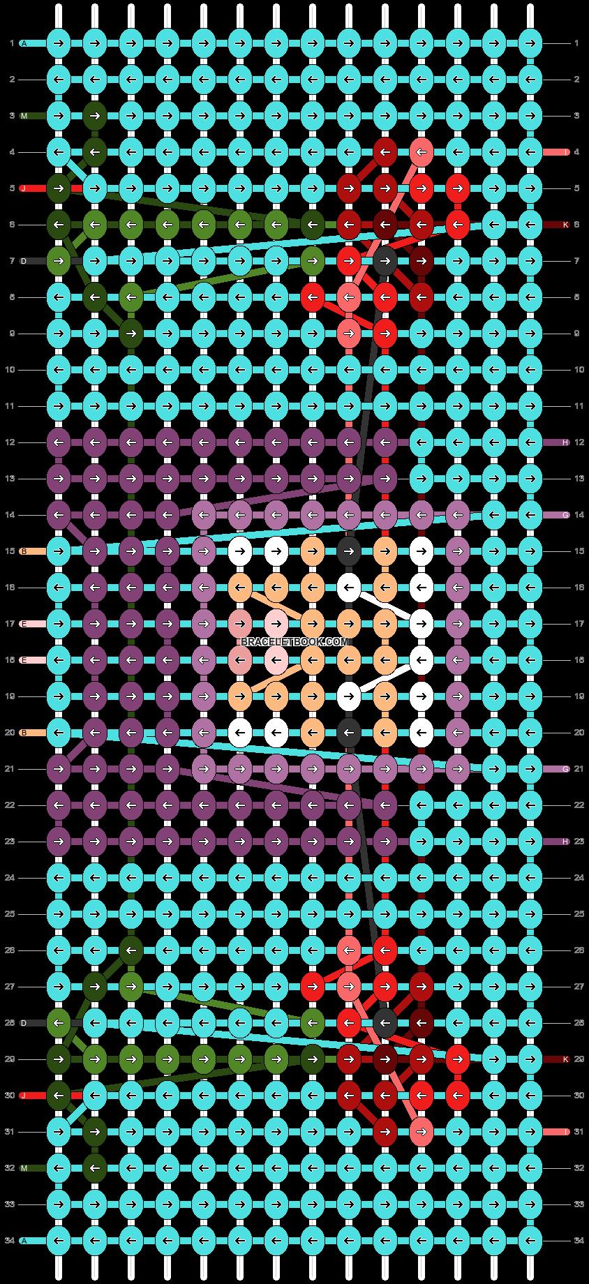 Alpha pattern #84103 pattern