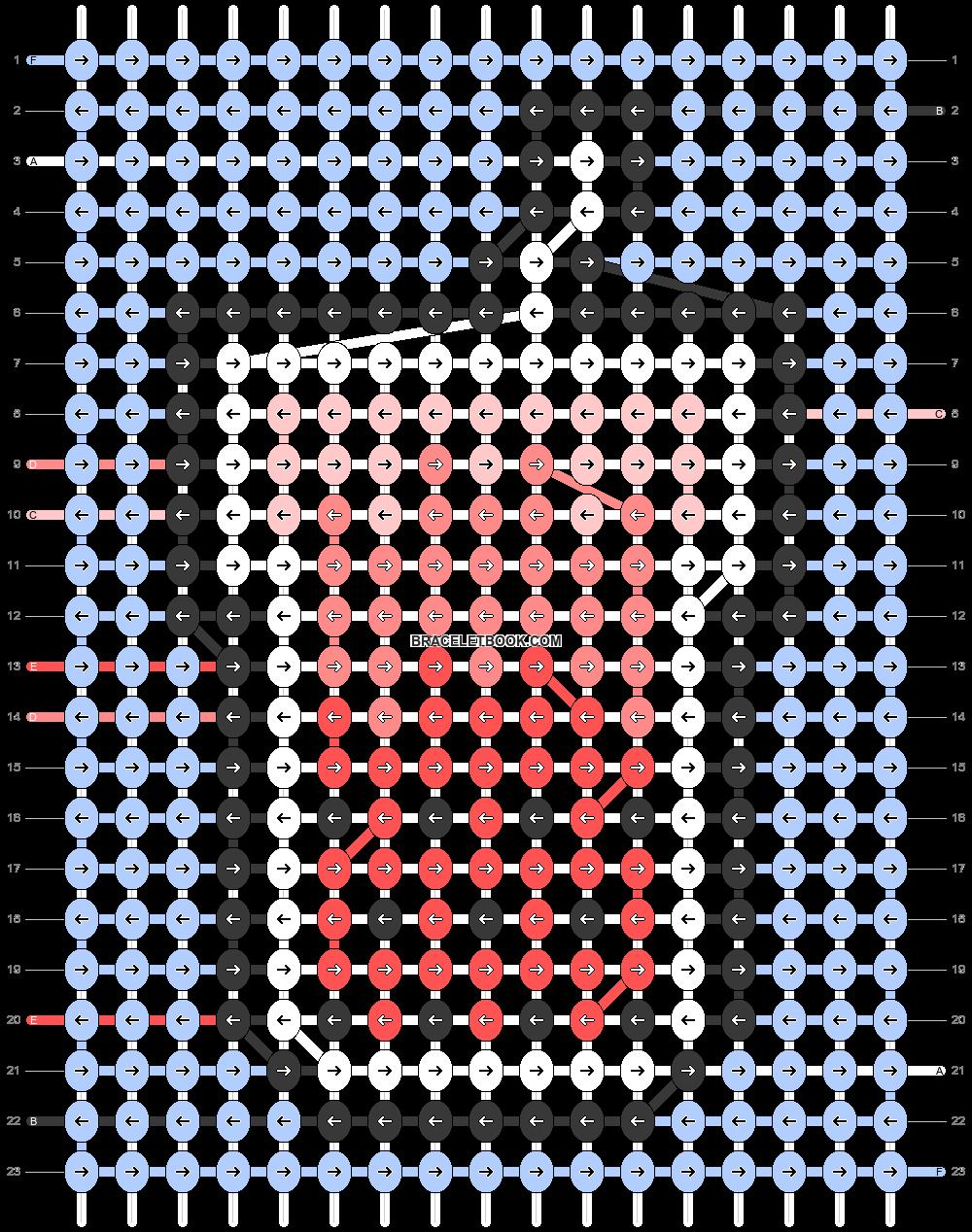 Alpha pattern #84108 pattern