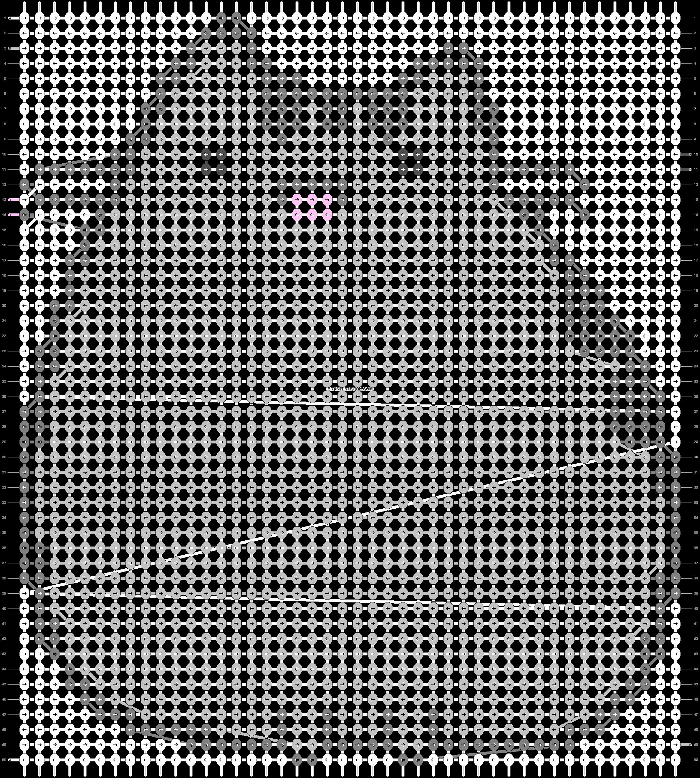Alpha pattern #84158 pattern