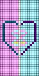 Alpha pattern #84167