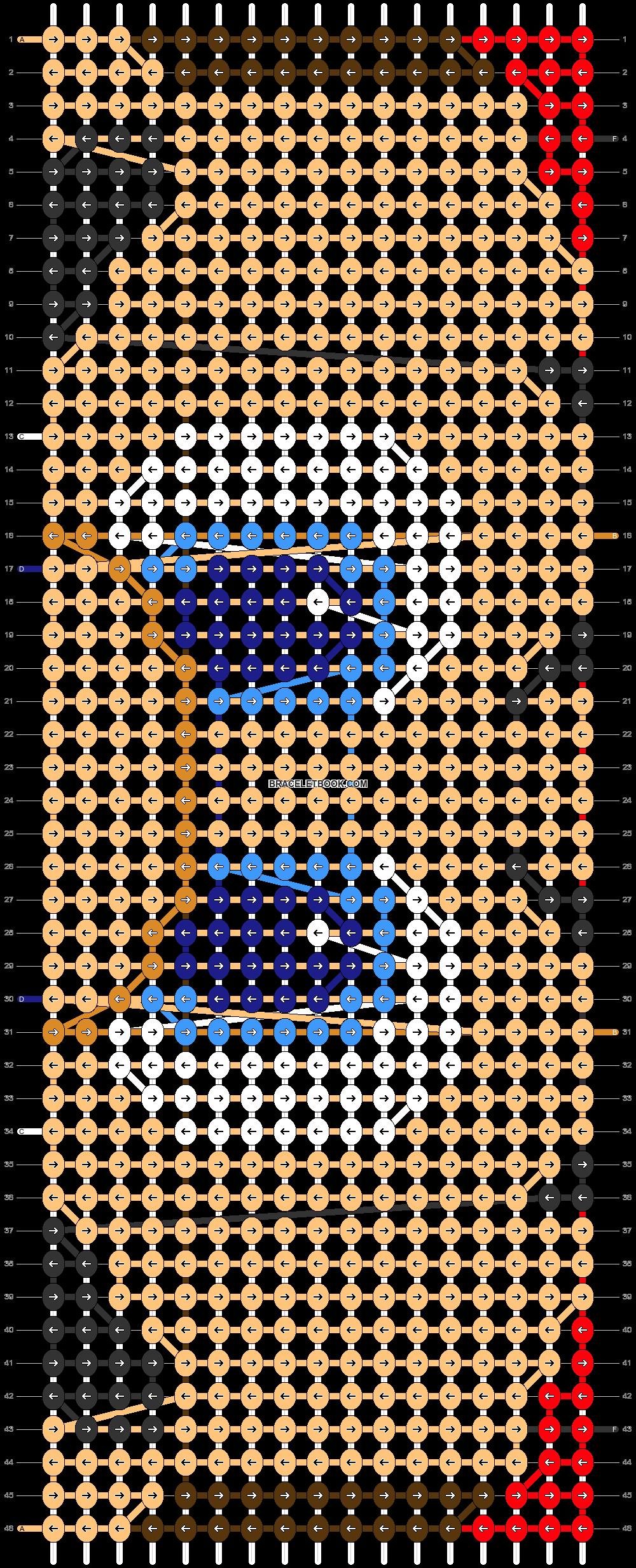 Alpha pattern #84175 pattern