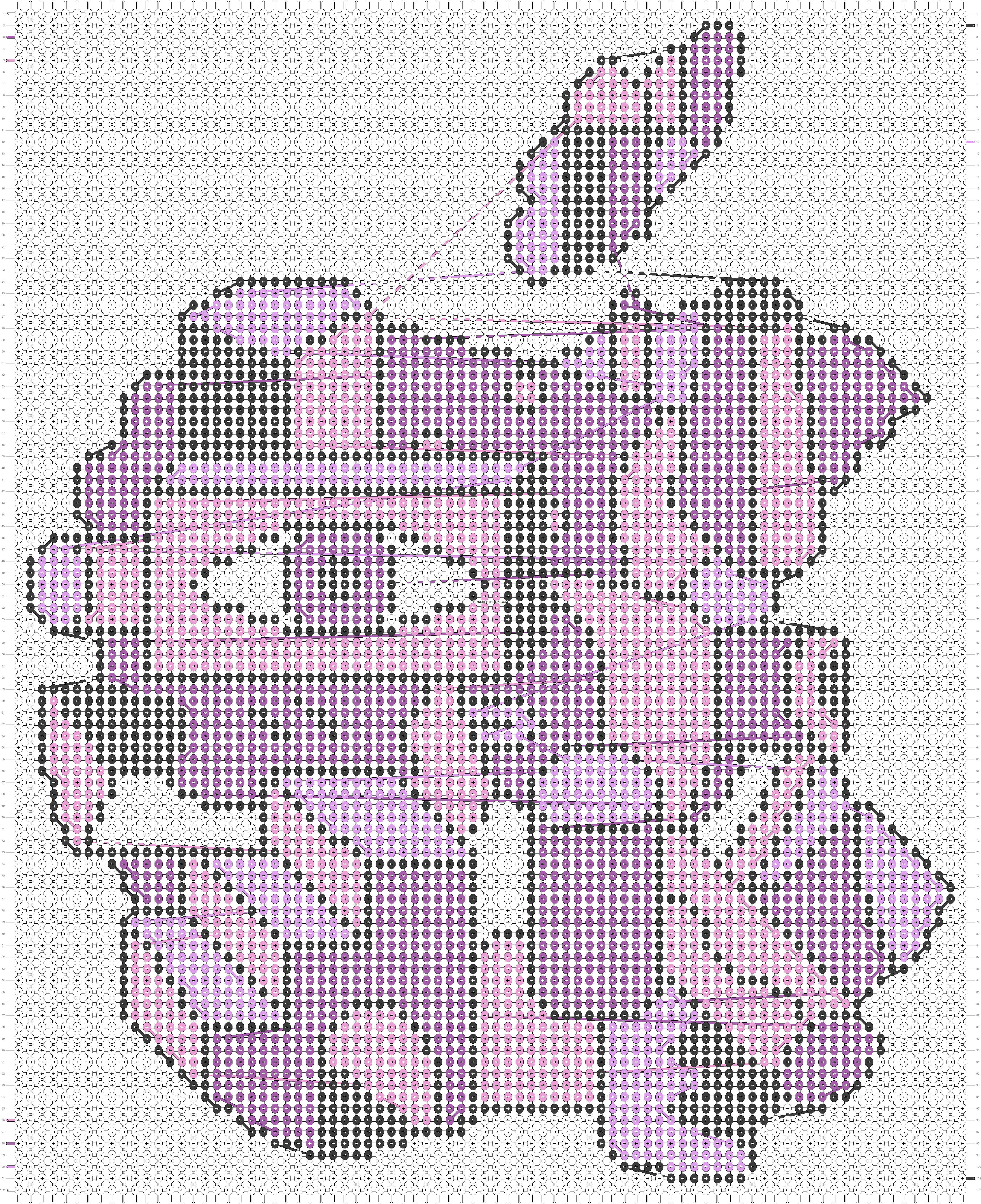 Alpha pattern #84191 pattern