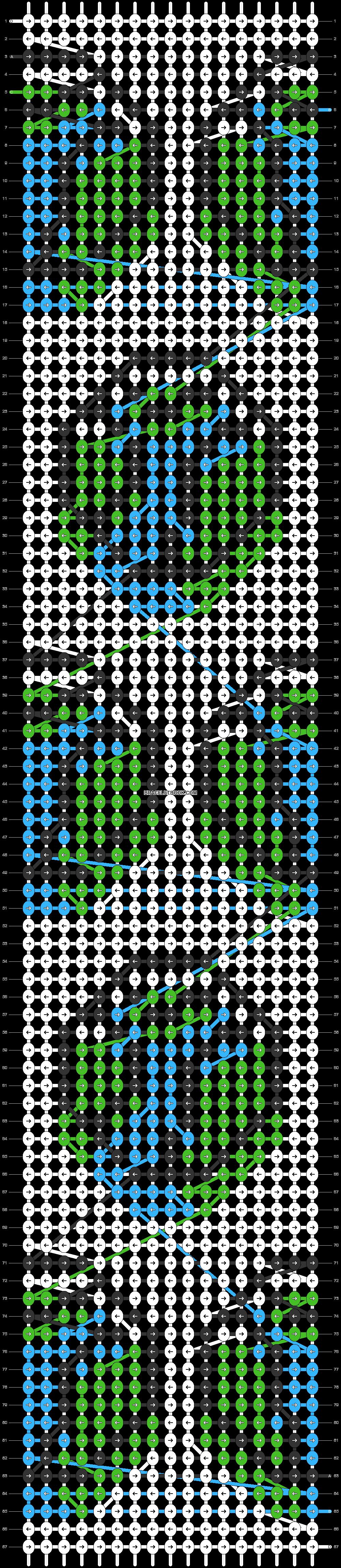 Alpha pattern #84208 pattern