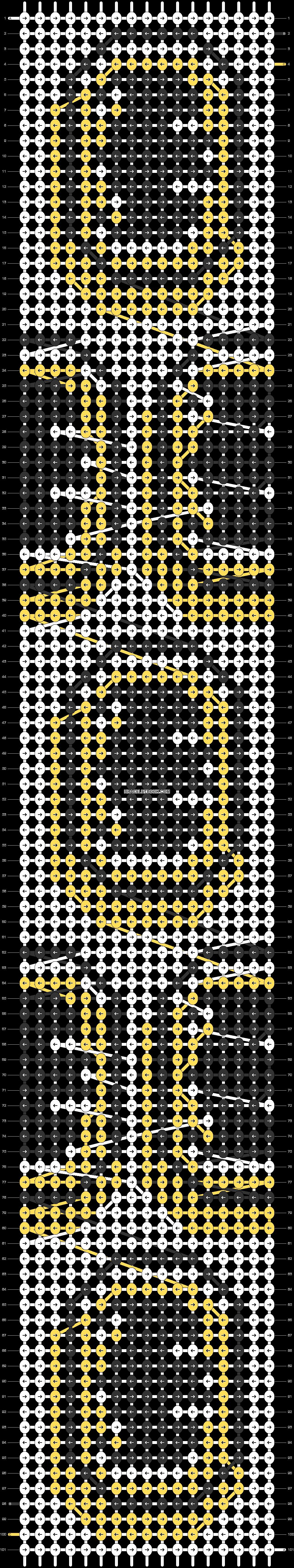 Alpha pattern #84209 pattern