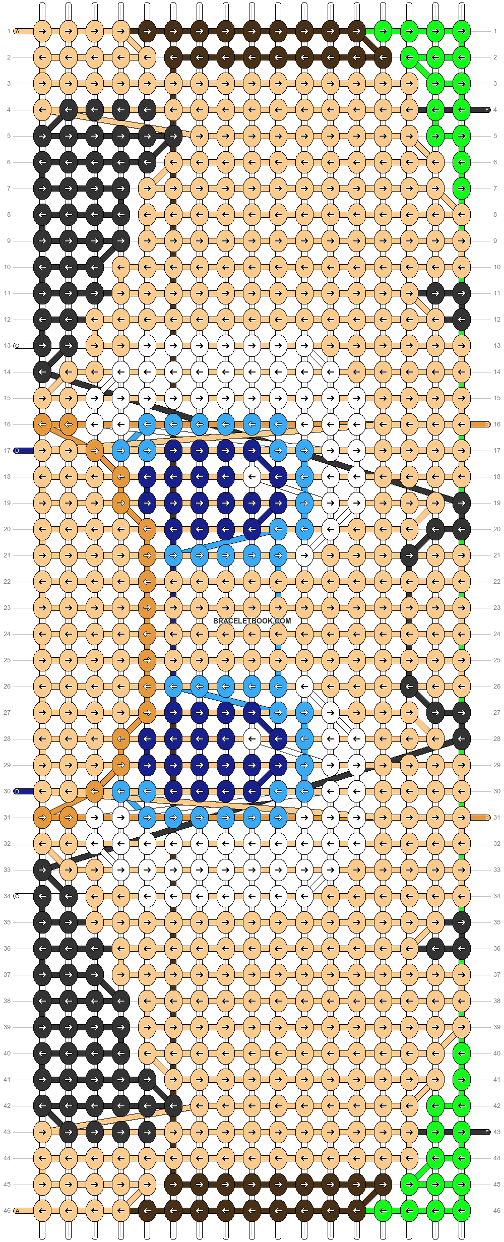 Alpha pattern #84254 pattern