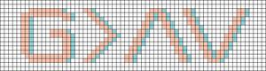 Alpha pattern #84275