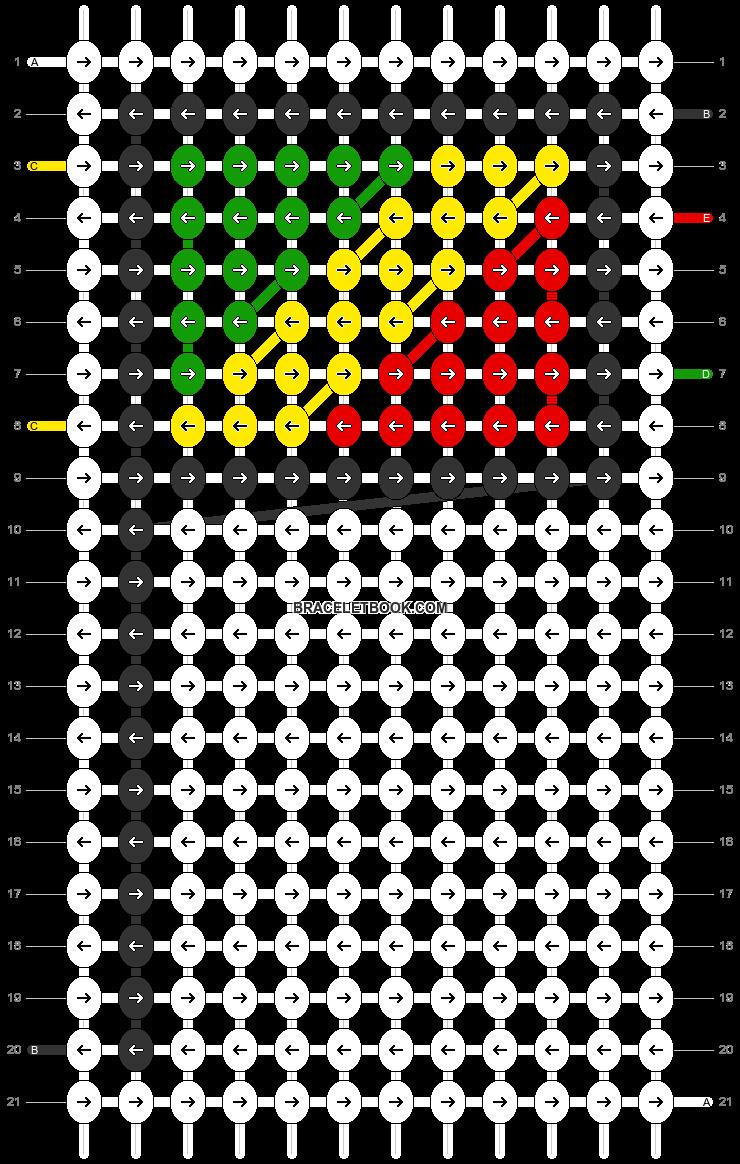 Alpha pattern #84290 pattern