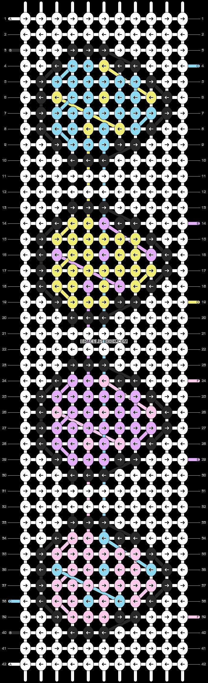 Alpha pattern #84303 pattern